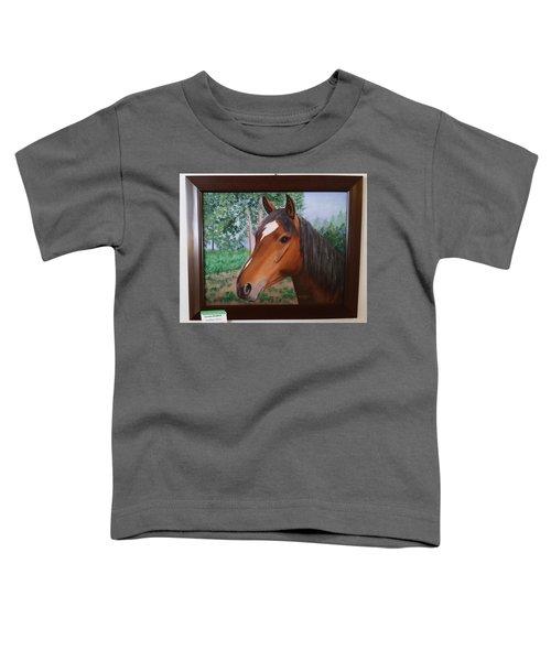 Wayne's Horse Toddler T-Shirt