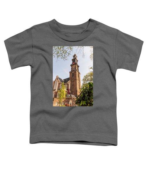 Westerkerk In Amsterdam Toddler T-Shirt