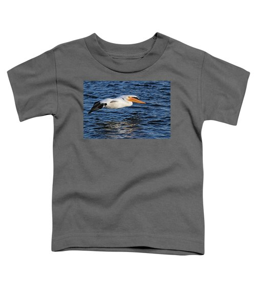 White Pelican Cruising Toddler T-Shirt