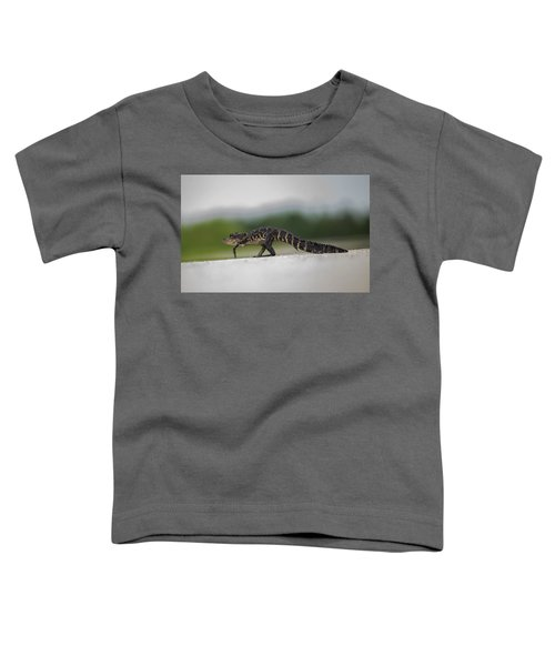 Why Did The Gator Cross The Road? Toddler T-Shirt