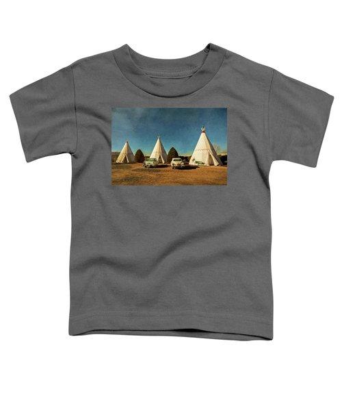 Wigwam Hotel Toddler T-Shirt