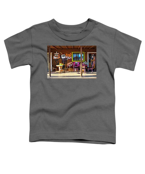 Wild West Dining Toddler T-Shirt