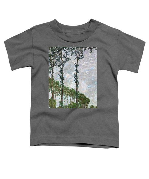 Wind Effect, Series Of The Poplars - Digital Remastered Edition Toddler T-Shirt
