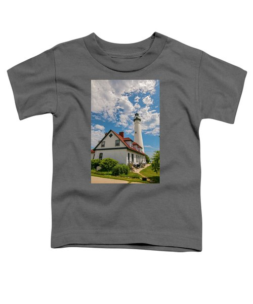 Wind Point Lighthouse No. 2 Toddler T-Shirt