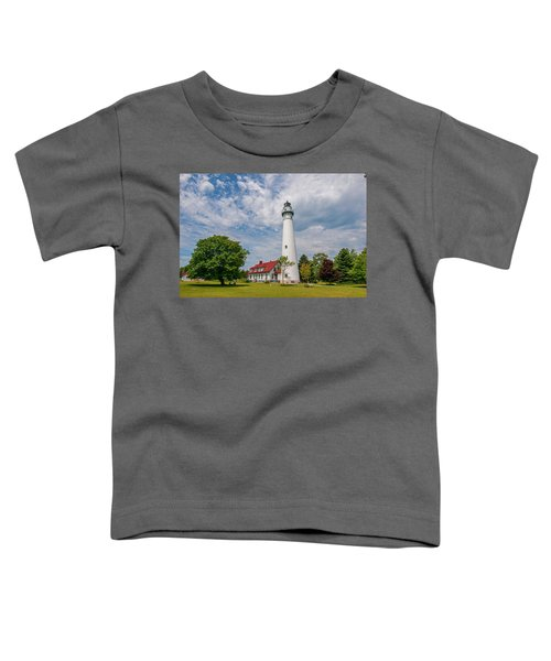 Wind Point Lighthouse No 3 Toddler T-Shirt