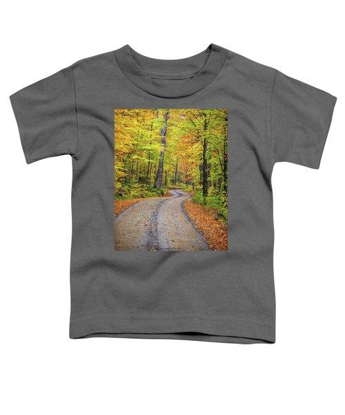 Winding Road Toddler T-Shirt