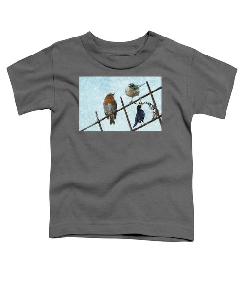 Winter Birds Toddler T-Shirt