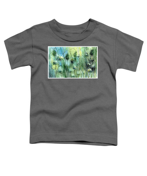 Winter Flowers Toddler T-Shirt