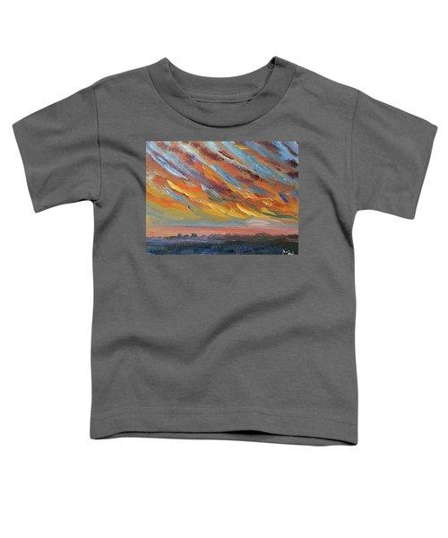 Winter Sunrise Over Provincetown Toddler T-Shirt