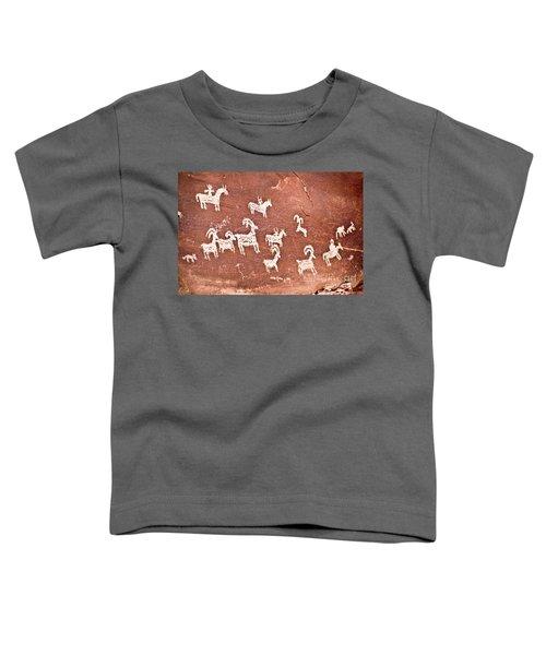 Wolfe Ranch Petroglyphs Toddler T-Shirt