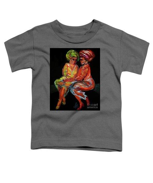 Women In Conversation Toddler T-Shirt