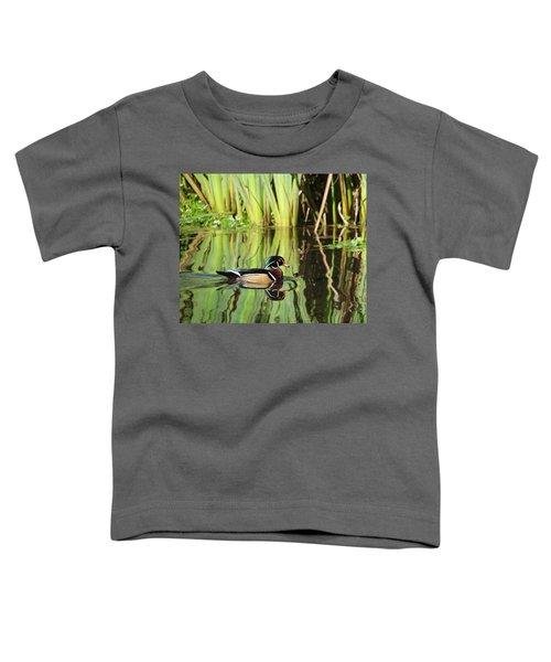 Wood Duck Reflection 1 Toddler T-Shirt