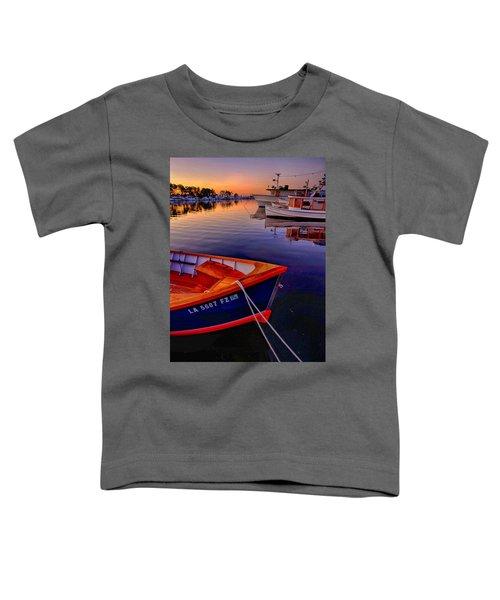Wooden Boats Toddler T-Shirt