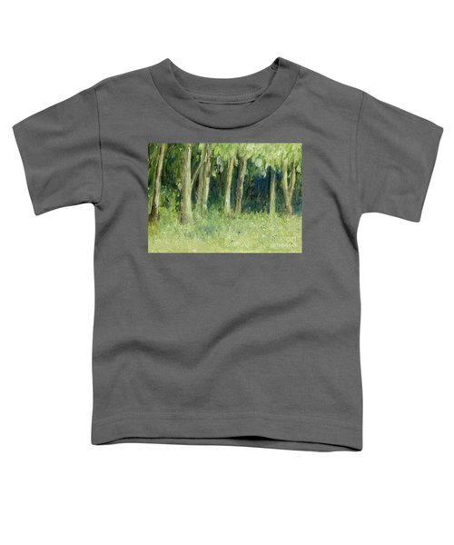 Woodland Tree Line Toddler T-Shirt