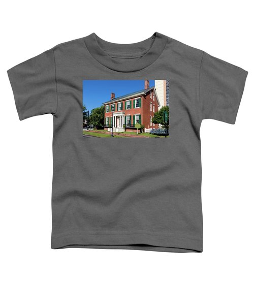 Woodrow Wilson Boyhood Home - Augusta Ga 3 Toddler T-Shirt