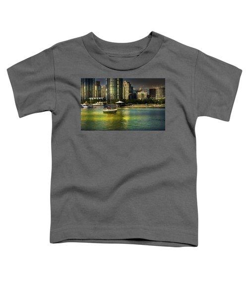 Yaletown Sunset Toddler T-Shirt