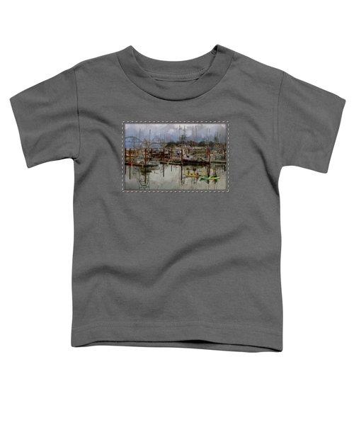 Yaquina Bay Kayaking Toddler T-Shirt
