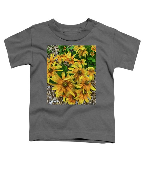 Yellow In Bloom Toddler T-Shirt