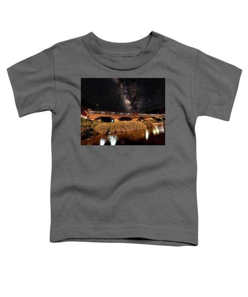 Yonghe Bridge Milky Way Toddler T-Shirt