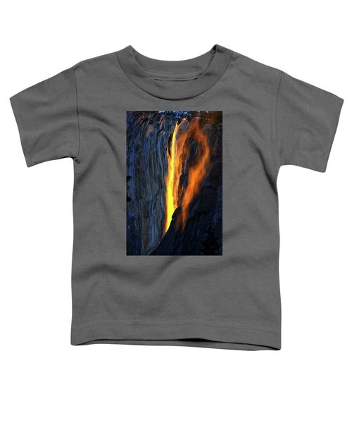 Yosemite Fire And Ice Toddler T-Shirt