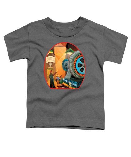 Young Fans Of Tesla Toddler T-Shirt