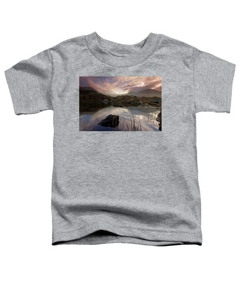 Llyn Ogwen Sunset Toddler T-Shirt