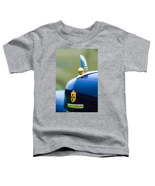 1942 Lincoln Continental Cabriolet Hood Ornament - Emblem Toddler T-Shirt