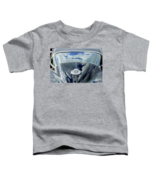1967 Chevrolet Corvette Rear Emblem Toddler T-Shirt