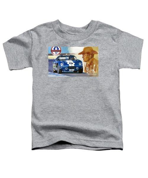 64 Cobra Daytona Coupe Toddler T-Shirt