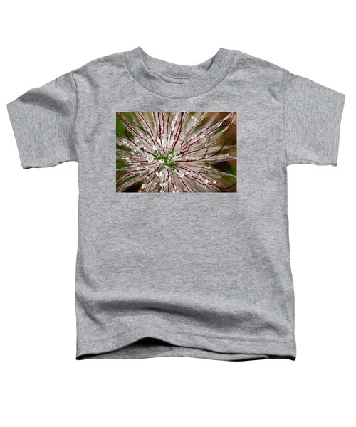 Abstract Macro Flower Head Toddler T-Shirt