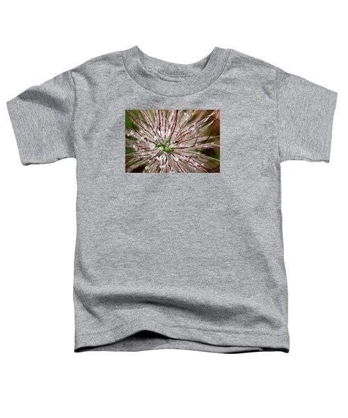 Abstract Macro Flower Head Toddler T-Shirt