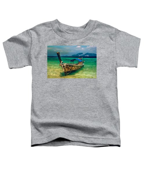 Asian Longboat Toddler T-Shirt