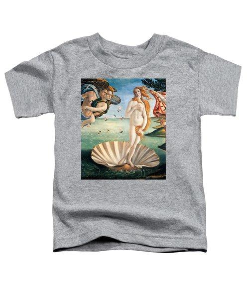 Birth Of Venus Toddler T-Shirt
