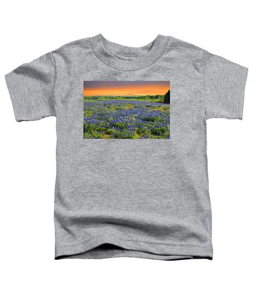 Bluebonnet Sunset  Toddler T-Shirt