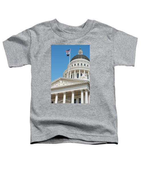 California State Capitol In Sacramento Toddler T-Shirt