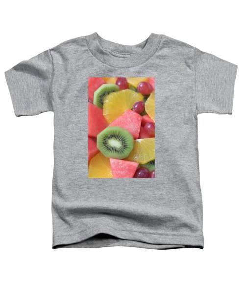 Colourful Fruit Salad (full-frame) Toddler T-Shirt