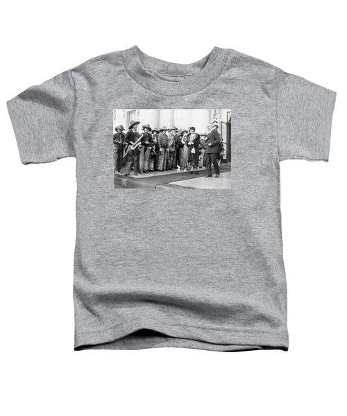 Cowboy Band, 1929 Toddler T-Shirt by Granger