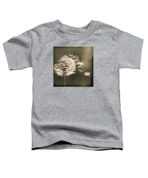 Toddler T-Shirt featuring the photograph Dandelion by Yulia Kazansky