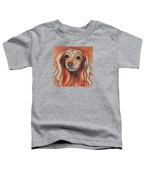 Daschound Toddler T-Shirt