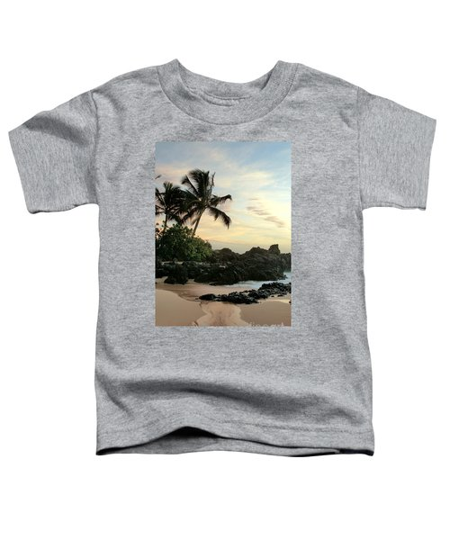 Edge Of The Sea Toddler T-Shirt by Sharon Mau