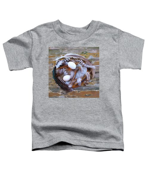 1. Feather Wreath Example Toddler T-Shirt