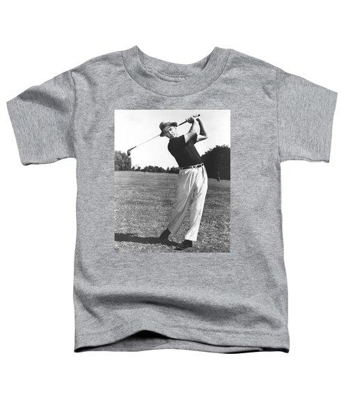 Golfer Sam Snead Toddler T-Shirt