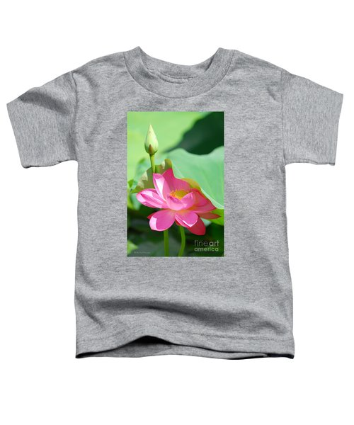 D48l-96 Water Lily At Goodale Park Photo Toddler T-Shirt