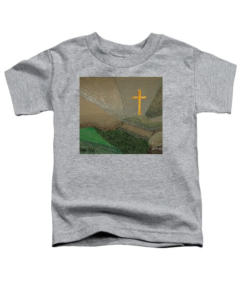 Depression And The Saviour Toddler T-Shirt by Rod Ismay