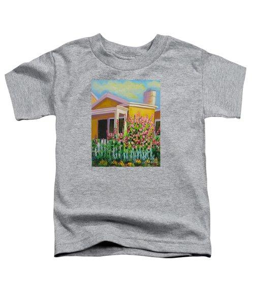 Hot Hollyhocks Toddler T-Shirt