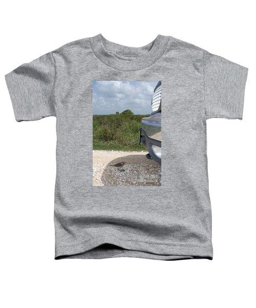 Killdeer Defending Nest Toddler T-Shirt