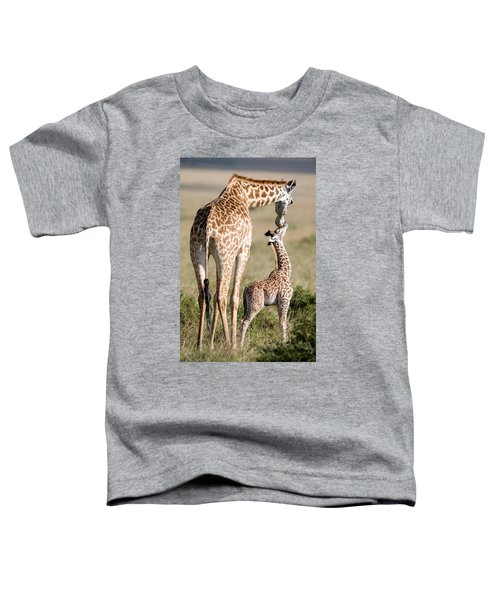 Masai Giraffe Giraffa Camelopardalis Toddler T-Shirt