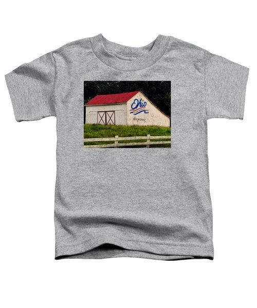 Ohio Bicentennial Barn Toddler T-Shirt