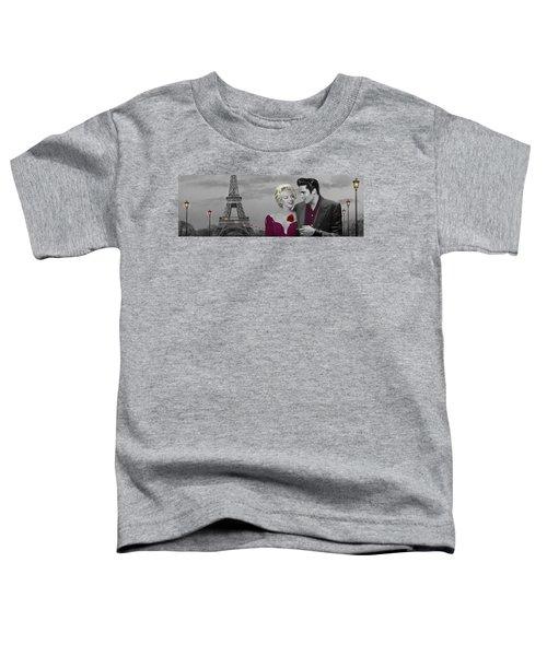 Paris Sunset Toddler T-Shirt by Chris Consani