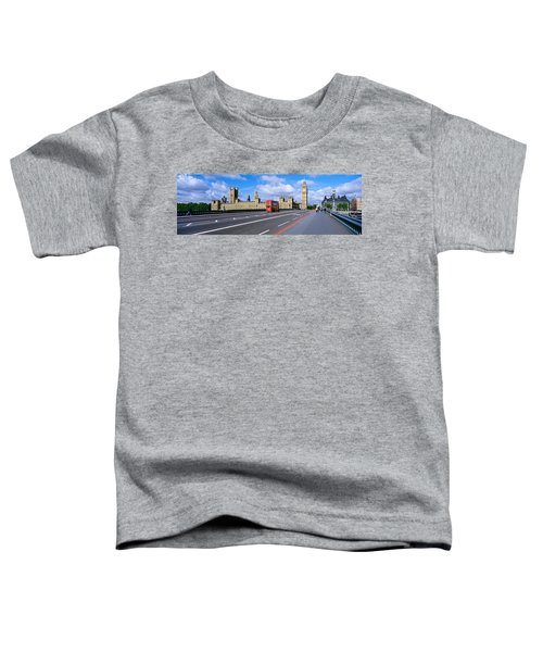 Parliament Big Ben London England Toddler T-Shirt by Panoramic Images